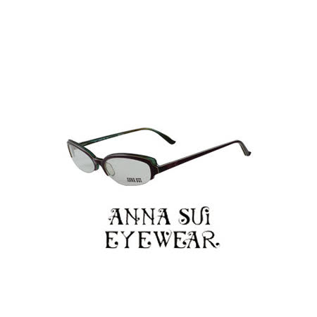 ANNA SUI 時尚蝴蝶造型近視平光眼鏡 AS09901