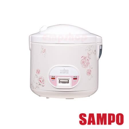 【聲寶SAMPO】10人份機械式電子鍋 KS-AF10