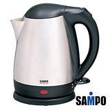 【聲寶SAMPO】1.5L上蓋不鏽鋼快煮壺 KP-SA15C