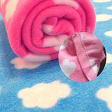 雙面絨童毯(雲朵毯)/空調毯/嬰兒毯/居家日用/膝蓋毯 毯子