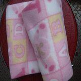 雙面絨童毯ABC熊/空調毯/嬰兒毯/居家日用/膝蓋毯 毯子