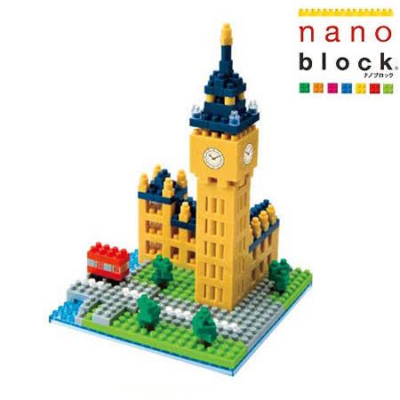 《Nano Block迷你積木》倫敦大笨鐘 (NBH-029)