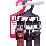 【PS Mall】皮帶/腰帶/領帶創意衣架掛架/塑料掛鉤_2個 (J1632)