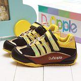 【童鞋城堡】Dr.Apple運動風黃色機能鞋{專櫃鞋款}8724