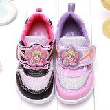 【童鞋城堡】真珠美人魚花瓣LED電燈運動鞋{台灣製造}PI5863