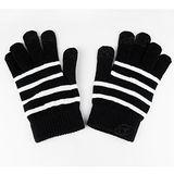 【Lus.G】暖呼呼觸控螢幕保暖手套-黑色