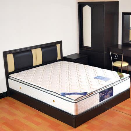 HAPPYHOME 絲黛特三線乳膠6尺加大雙人獨立筒床墊