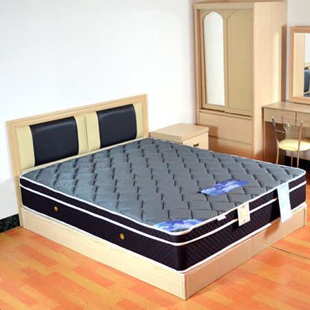 HAPPYHOME 絲黛特3D立體透氣5尺雙人獨立筒床墊