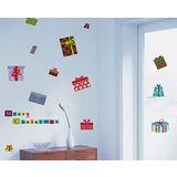 YoDa無痕創意壁貼《耶誕節系列-交換禮物》