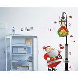 YoDa無痕創意壁貼《耶誕節系列-耶誕老公公》