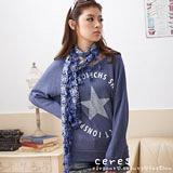 【ceres席瑞絲】星星字母輕閒個性上衣(二色)
