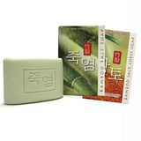 LG竹鹽潔膚皂+黃土潔膚皂(2入1組)