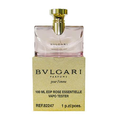BVLGARI 寶格麗 玫瑰花女性淡香精 100ml-Tester包裝