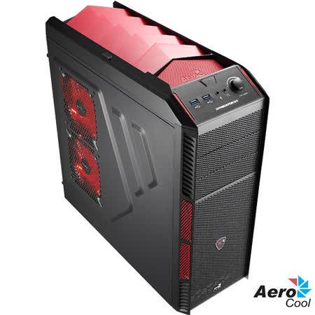 AeroCool Xpredaror X1 電腦機殼 惡魔紅