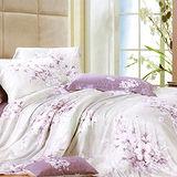 《KOSNEY 潮水之戀 》雙人100%天絲TENCEL八件式兩用被床罩組