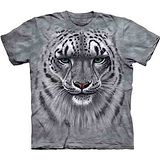 『摩達客』美國進口【The Mountain】自然純棉系列 雲豹像設計T恤 (預購)