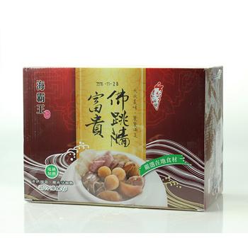 海霸王富貴佛跳牆2500g+-5%/盒(年菜)
