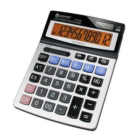 【KINYO】桌上型護眼計算機(KPE-592)