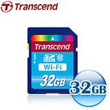 創見Transcend WiFi 32GB SDHC CLASS10 記憶卡