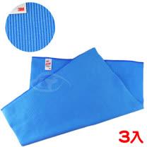【3M】魔布多功能精密擦拭布-藍色3入組