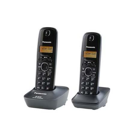 國際牌Panasonic 2.4G數位雙手機無線電話KX-TG3412經典黑