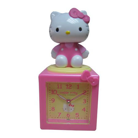 Hello Kitty搖擺舒壓公仔鬧鐘(JM-E500-KT)粉紅