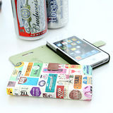 【Happymori】※Vintage clothing※ 側開手機皮套 適用Galaxy Note2 N7100