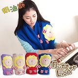 奶油獅 居家必備-台灣製造-舒適輕柔造型毯(1入)-藍