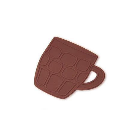 創意韓版時尚格子馬克杯杯墊 矽膠防滑隔熱墊 (2組4個)