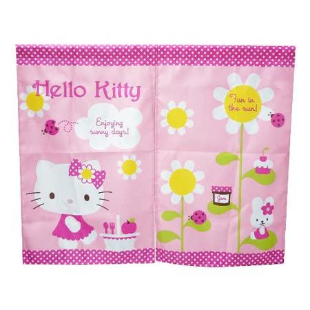 Hello Kitty太陽花中門簾