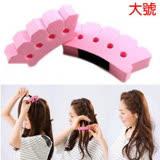 韓國時尚簡單造型輕鬆編髮器編髮夾 大號辮子(2個)