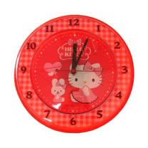 Hello Kitty座掛兩用石英鐘(JM-W566)格紋