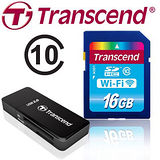 Transcend創見 WI-FI 16GB CLASS10 SDHC 無線記憶卡