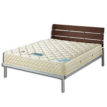【Bernice】頂級3D孟宗竹冬夏兩用彈簧床墊5X6.2尺(標準雙人)