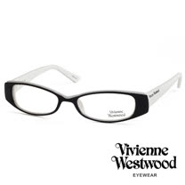 Vivienne Westwood 經典LOGO造型英倫龐克風光學眼鏡 (黑白) VW192G03