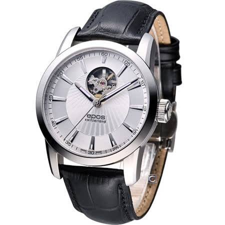epos Sophistiquee 自動上鍊機械腕錶3423.133.20.18.25白
