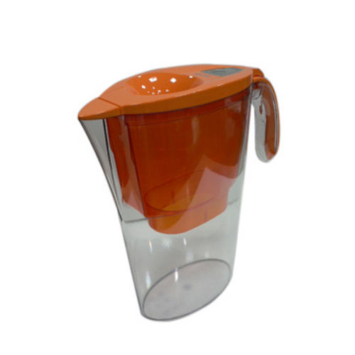 義大利LAICA繽紛色彩濾水壺-時尚橘