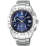 SEIKO BRIGHTZ 太陽能4局電波腕錶-藍/銀 8B54-0AA0A
