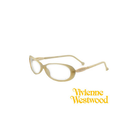 Vivienne Westwood 光學平光鏡框★英倫龐克風★(黃) VW024 01