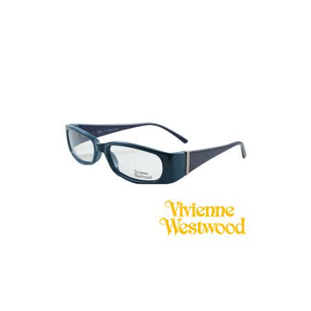 Vivienne Westwood 光學平光鏡框★英倫龐克風★(藍) VW057 03