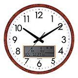 WIN TIME液晶顯示時尚居家萬年曆掛鐘WT887