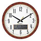WIN TIME液晶顯示時尚居家萬年曆掛鐘WT886