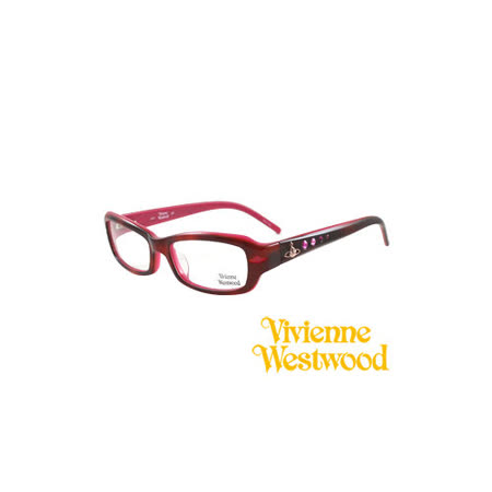 Vivienne Westwood 光學鏡框★閃亮時尚晶鑽★英倫龐克風(紅) VW157 04