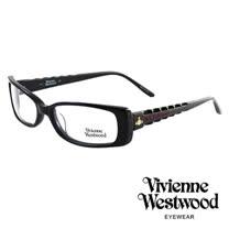 Vivienne Westwood 光學鏡框骨棒龐克造型光學眼鏡/(黑) VW175G04