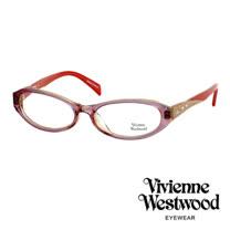 Vivienne Westwood 閃亮時尚晶鑽光學眼鏡 (紅) VW193G04