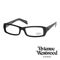 Vivienne Westwood 英倫龐克風造型光學眼鏡(黑) VW195G01