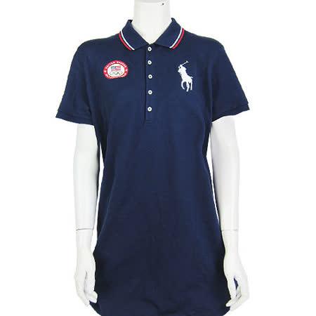 Ralph Lauren  戰馬LOGO 奧運紀念版POLO洋裝(藍)