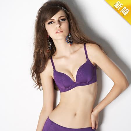 【瑪登瑪朵】RA0180 有魔力   B-E罩杯內衣(極光紫)