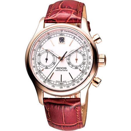 epos Originale 原創時尚計時機械腕錶 3415.868.24.10.27FB