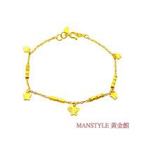 Manstyle「愛飛翔」黃金手鍊